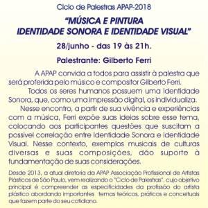Música E PINTURA - Identidade sonora e identidade visual