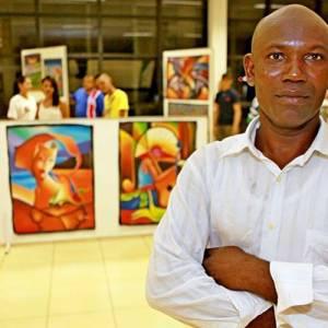 Exposição de Telas de Pintores Haitianos é aberta em Três Lagoas Lagoas
